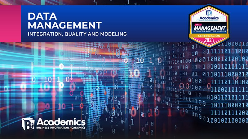Data Management Integration, Quality and Modeling